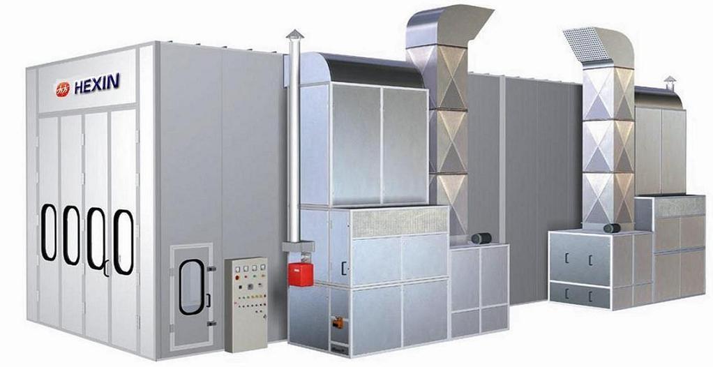 Spray Booth HX-1000  1