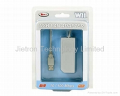 Wii/USB Lan Adapter, game accessory