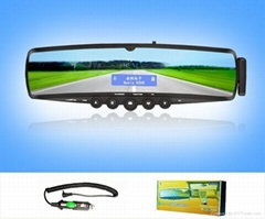 Bluetooth rearview mirror car kit