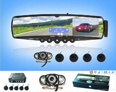 "Bluetooth Rearview Mirror parking camera 3.5"" TFT Monitor"