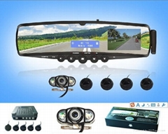 Bluetooth mirror handsfree car kit
