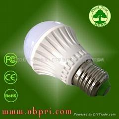 4w高亮度LED球泡燈