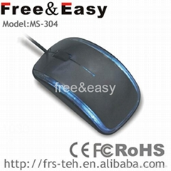 ergonomic design 3d wired mouse