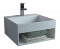 artificial stone cheap bathroom basin
