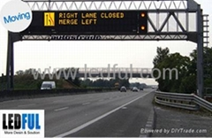 Outdoor dual/single color LED Sign Display Screen