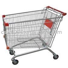 欧洲款超市购物车