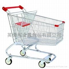 美式超市购物车