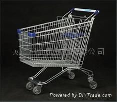 Russian supermarket trolley