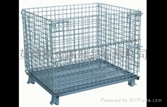 Collapsible Wire Storage Cages