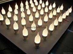3X1W可调光蜡烛灯,