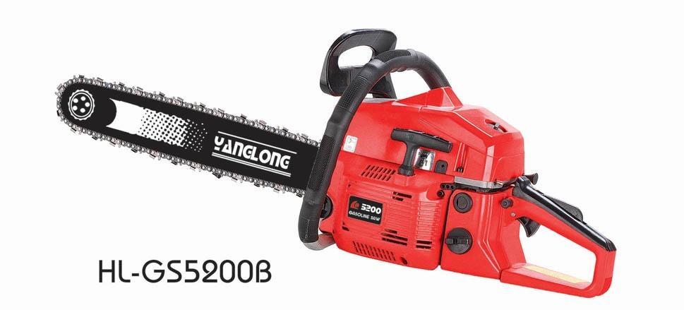 52cc chain saw,gas chain saw 1