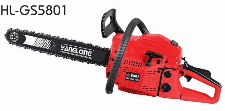 58cc chain saw,gas chain saw 1