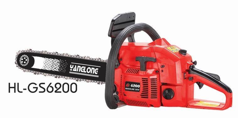 62cc chain saw,gas chain saw 1