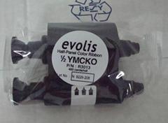 供应法国Evolis 证卡打印机 半格彩色带 R3013