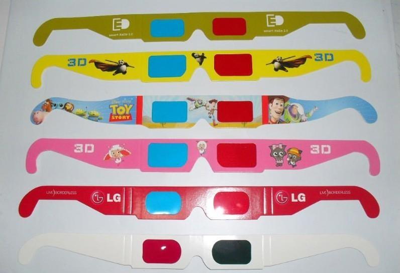 glasses 2011. Printed Paper 3D Glasses,2011