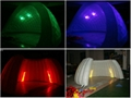 event inflatable tent with led light/led tent/led lighting decorations