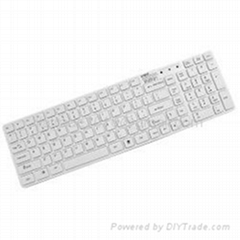 Wireless 2.4G Keyboard With Mini Transmitter