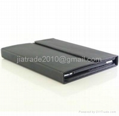 Leather Cover for both Ipad2 and New Ipad2 With Bluetooth Keyboard