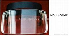 Ballistic Protective Visor (Helmet Visor) bulletproof face shield/GLASS