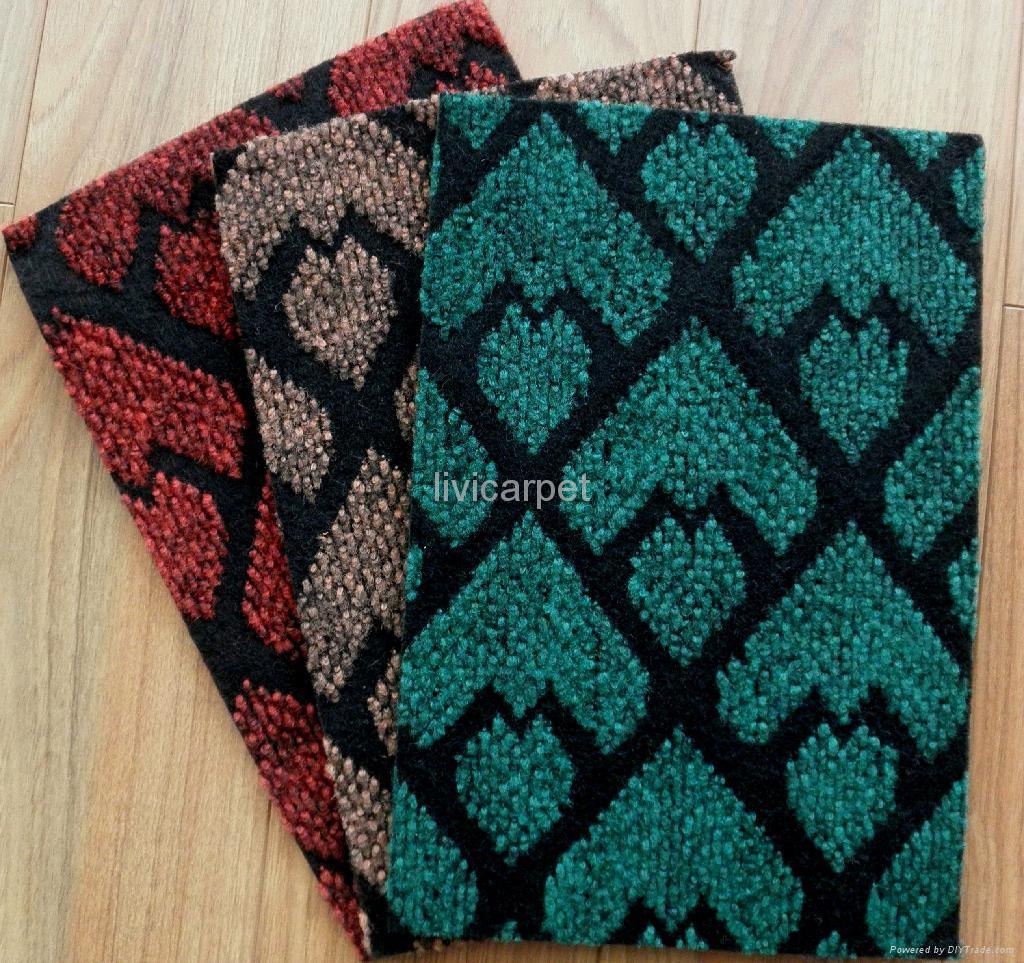 Non Woven Carpets Non Woven Double Ply Jacquard