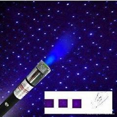 5合1蓝紫色激光笔30MW