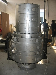 UPVC extrusion mould for  large diameter pipe