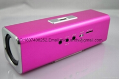 Great promotion Music angel UK2 portable gift card computer MP3 speaker