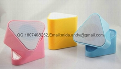 New Hot sale portable speaker M6 support USB/SD/TF/MP3 with FM