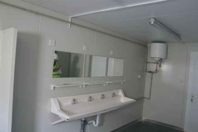 Living Bathroom Shower Toilet Container House