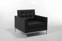 高档休闲florence knoll sofa,弗洛伦斯诺尔