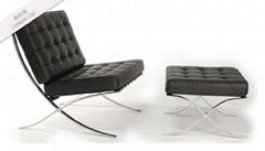 现代时尚巴塞罗那椅子