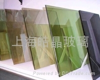 Coating glass