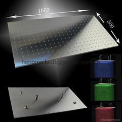 500*1000mm ceiling mounted rainfall led