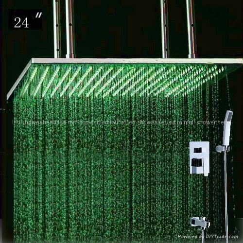 concealed shower led shower set 1