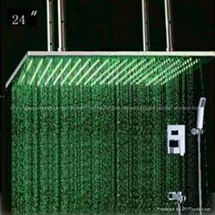 concealed shower led shower set