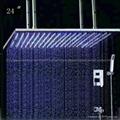 concealed shower led shower set 2