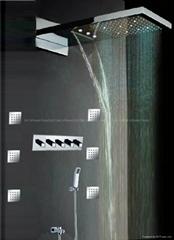 led shower sets