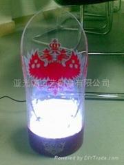 LED紅灑展示架