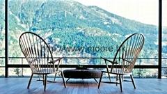 孔雀椅(peacock chair);休闲椅
