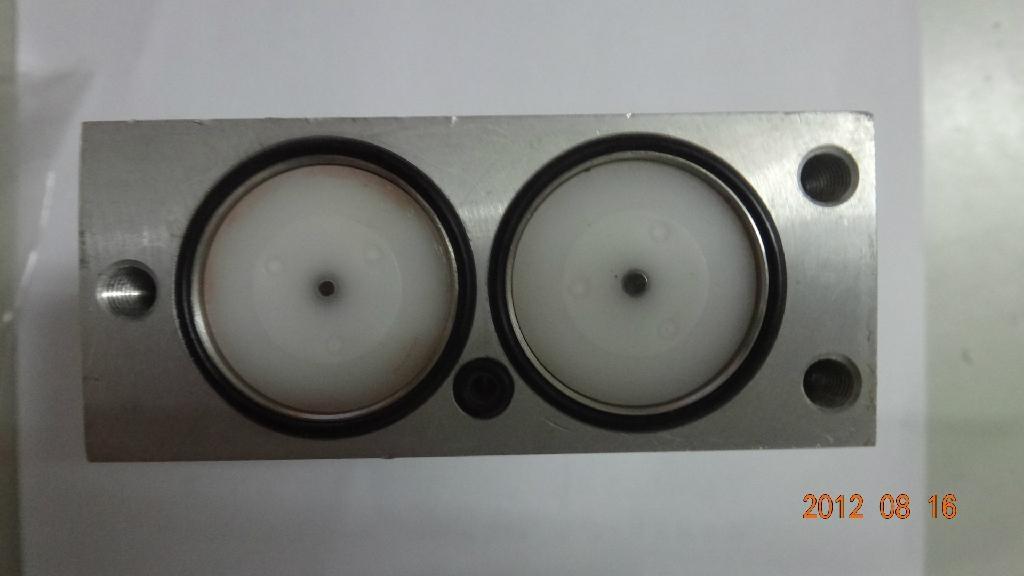 ROSS雙聯電磁閥閥芯中間塊 2