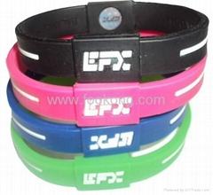 EFX Silicone Sport Wristband Silicone Fashion Bracelet