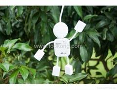Human Shape Cartoon USB Hub High Speed 4 Ports USB Hub For PC Laptop Notebook