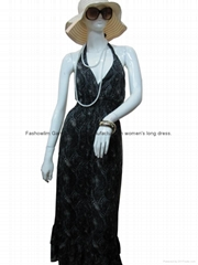 lady's long dress