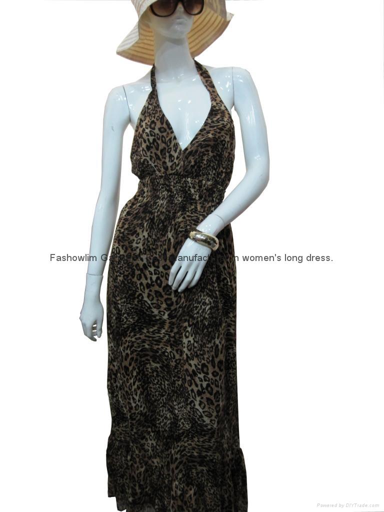 lady's long dress 2