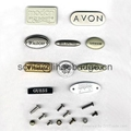 aluminum furniture label, metal label , name plate