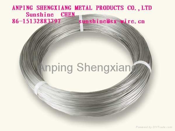 ga  anized binding wire
