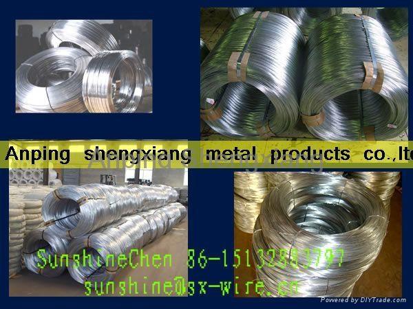 ga  anized binding wire 3