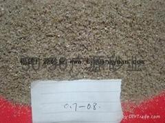 海砂滤料石英砂过滤砂0.8-1.2mm