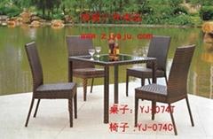 厂家直销批发仿藤桌椅