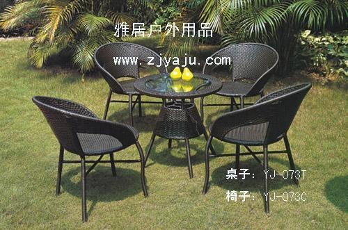 仿藤桌椅 1
